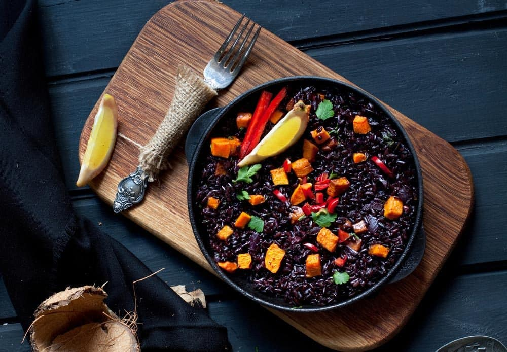 How to cook black rice