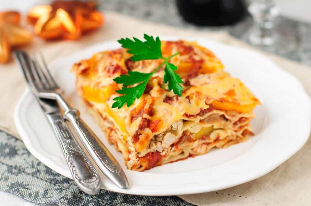 vegan butternut squash lasagna