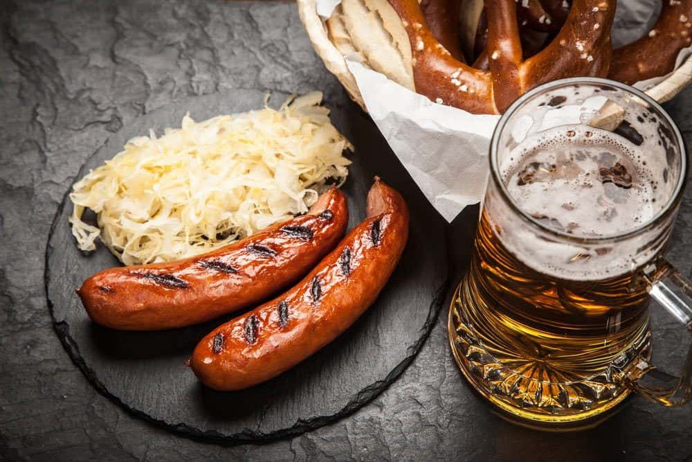 how to cook german sausage