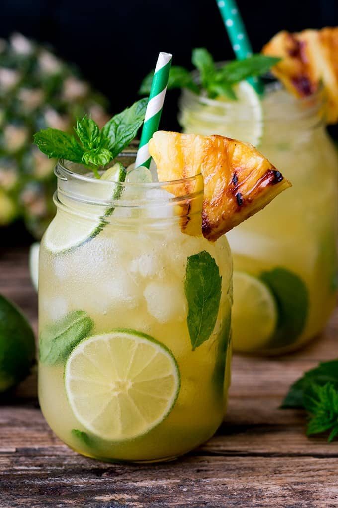 9. SPICED GINGER MOJITO